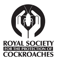 Royal Society for the Protection of Cockroaches - T-Shirt Design by Chris Packham