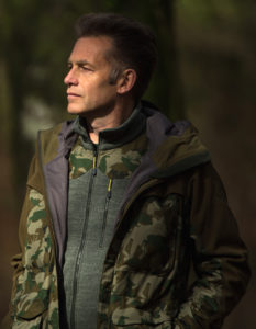 Chris Packham outdoor clothing range - copyright Jo Charlesworth