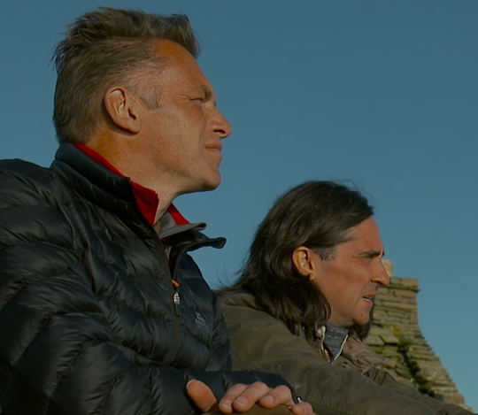 Chris Packham and Neil Oliver