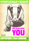 Wildlife Needs You - Badger 100