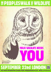 Wildlife Needs You - Owl 100