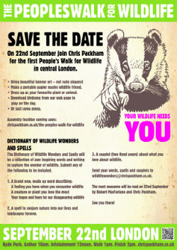 Wildlife Needs You Schools Poster 250